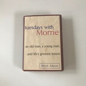 Tuesdays with Morrie Hard Back Book